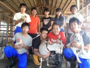 八王子市立石川中学校の2年生たちのFIO職場体験