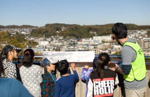 富士見台公園で、昔と今の由木を比べる