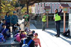 永林寺で、由木の歴史を学ぶ